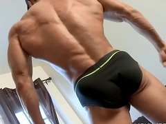 Gay Stud Takes His Clothes Elsewhere On Camera