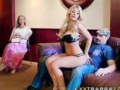 Dont Trouble Her sexy blonde Kayla Kayden