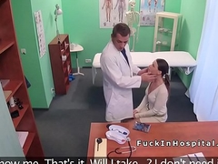Hot Euro patient ass drilling and fucking doctor