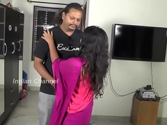 Bigtits Indian Wife Drilled Hard by Lover - HotShortFilms.com