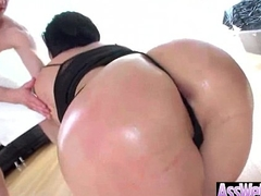 (shay fox) Sexy Girl With Big Oiled Wet Ass Like Anal Sex clip-27