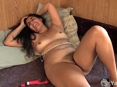 Pierced Miel Fucking The Vibrator