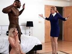 Khloe Capri gets caught with the brush new stepdad Jax Slayher