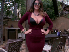 Alison Tyler Attired in b be committed to huge natural tits with the addition of ass