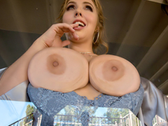 Busty babe Lena Paul In the porn scene - Avoiding Dicktection