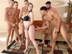 Lena Paul In the porn scene - Brazzers Accommodation billet sex in five