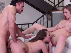 Lena Paul  plus Lily Love meet the doctor - Porn XXX