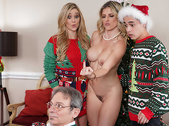 Keep The Xmas Lights Tied On - Mammy Cory Chase In the porn scene