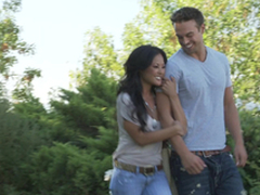 Romantic hookup with a sexy Asian doll Kaylani Lei