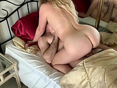 Stepmom has sex with stepson relating to win him ready for bus - Erin Electra