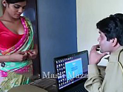 Sexy Indian short films - Young Indian Bhabhi Seduced By A Police Man (new)