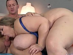 Giant boobed fatty Mandy Regal gets fucked