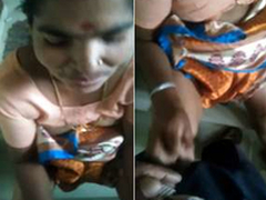 Today Exclusive-Desi Telugu Maid Give Handjob to House Owner