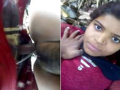 Desi Village Girl Tight Wet crack Hard Fucked By Lover Open-air