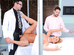 Cheating MILF does passionate XXX porn with big-cocked gynecologist