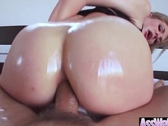(Dahlia Sky) Pretentiously Ass Oiled Sexy Girl Gain in value Anal Sex video-13
