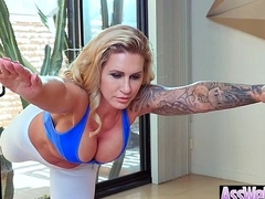 Big Wet Ass Girl (Ryan Conner) Get Oiled And Hard Style Analy Banged clip-28