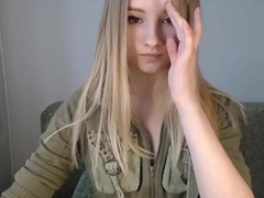 pretty blonde teen from www.viewcamgirls.com flashes tits on webcam
