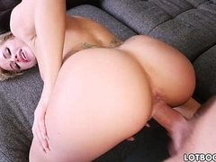 Juicy ass and big tits of beautiful blonde Jessa Rhodes